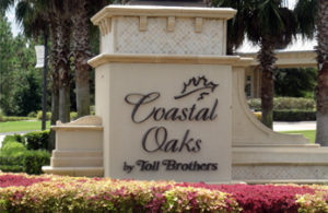 Coastal Oaks Sign