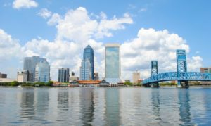 Downtown Jacksonville Florida