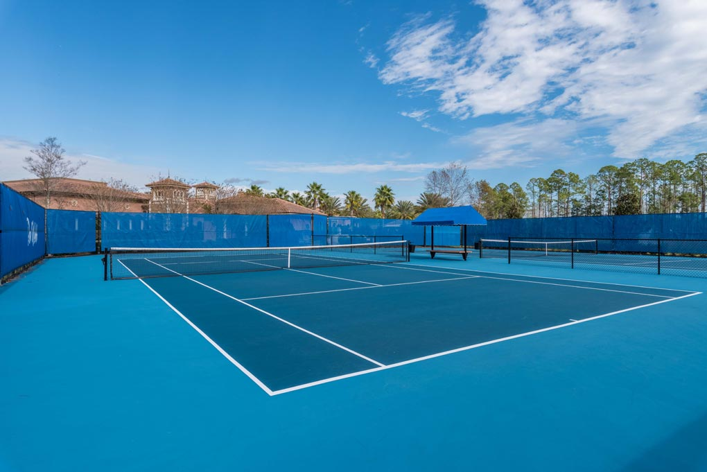 DEL WEBB TENNIS COURTS