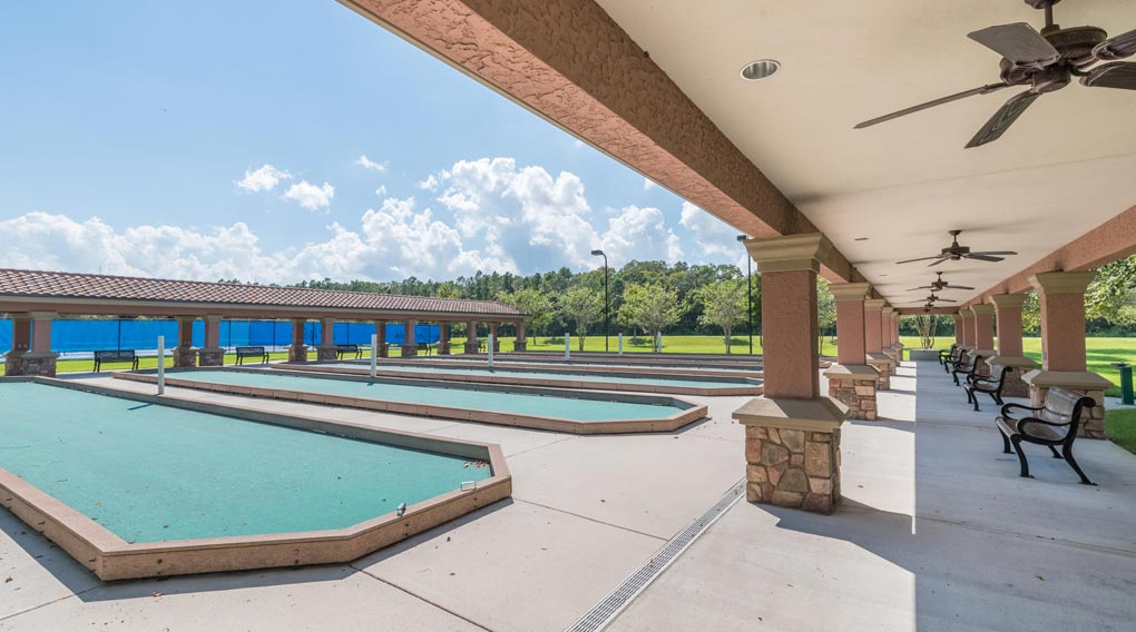 DEL WEBB BOCCE BALL COURTS