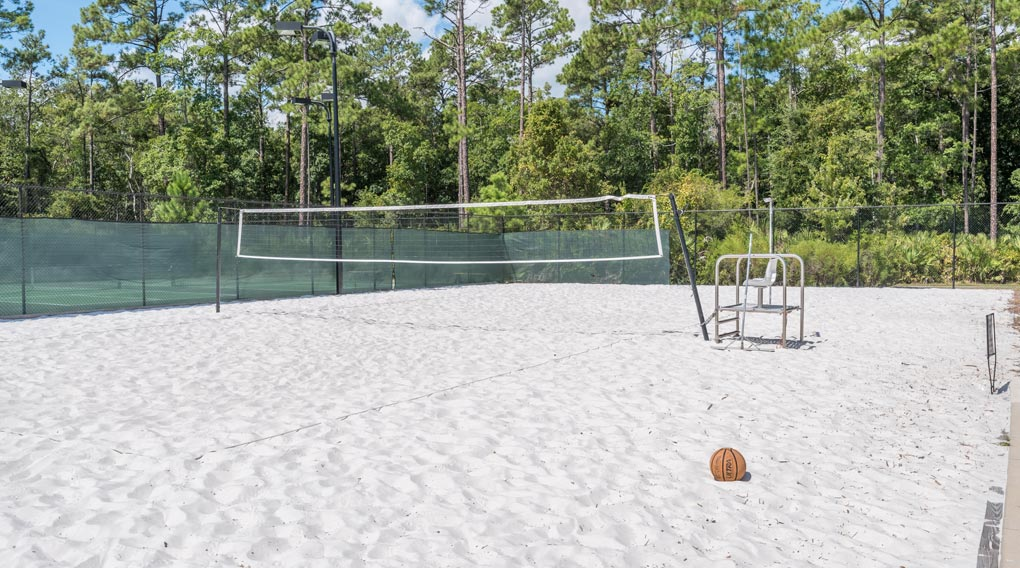 Nocatee Volleyball Court