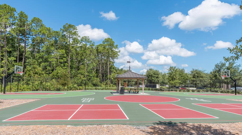DEL Webb Ponte Vedra Basketball courts