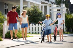 Family Biking in St. Johns, FL