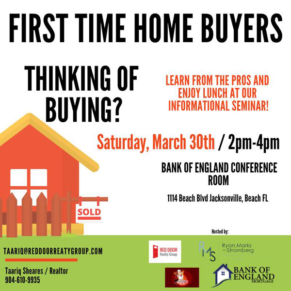 First Time Home Buyer Banner