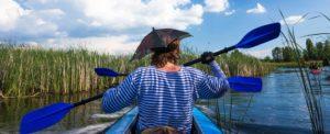 Clay County Kayaker
