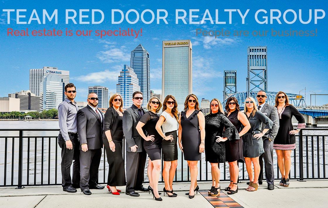 Red Door Realty Group team of Jacksonville Realtors