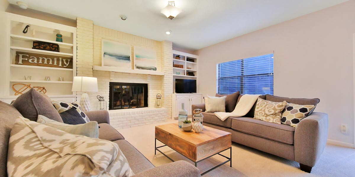 Jacksonville Florida & St. Augustine Florida home staging picture