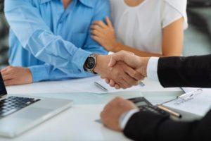 Shaking on real estate probate deal in Jacksonville, FL