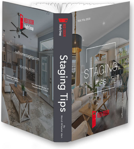 Red Door Realty Group Jacksonville Staging Tips booklet picture