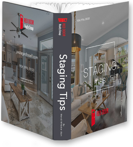 Red Door Realty Group Staging Tips booklet