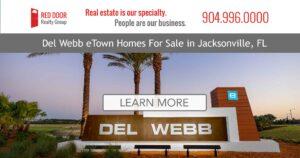 Del Webb eTown homes for sale banner